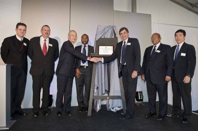 TOYOTA Opens New Distribution Centre